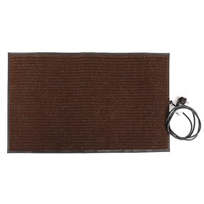 """Коврик подогреваемый """"Теплолюкс-carpet"""" 800х500 мм, 65 Вт, 0.4 м2, коричневый"""