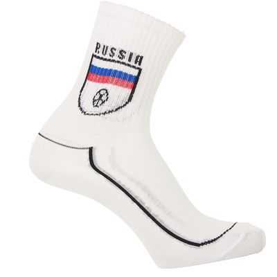 Носки мужские спорт, цвет белый, размер 25-29