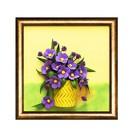 """3D-картина из фоамирана """"Полевые цветы"""""""