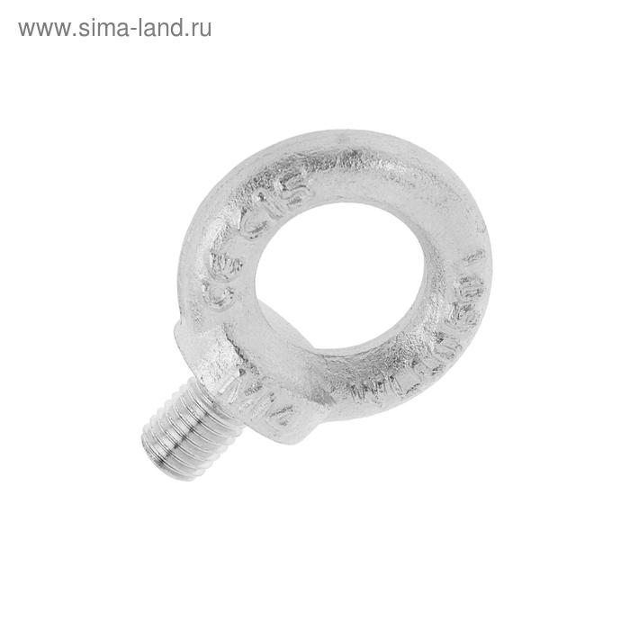 Рым-болт TUNDRA krep, DIN 580, М14, оцинкованный