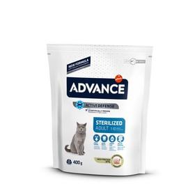 Сухой корм Advance для стерилизованных кошек, индейка, 400 г