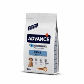 Сухой корм Advance для собак малых пород, контроль веса, курица/рис, 3 кг
