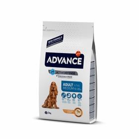 Сухой корм Advance для собак, курица/рис, 3 кг