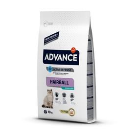 Сухой корм Advance  для стерилизованных кошек, выведение шерсти, 10 кг