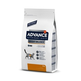 Сухой корм Advance для кошек при ожирении, 1,5 кг
