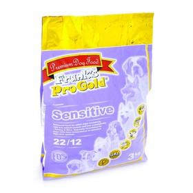 Сухой корм Frank's ProGold для собак с чувствительным пищеварением, индейка по-голландски, 22/12, 3 кг