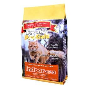 Сухой корм Frank's ProGold Indoor 36/12 для домашних и кастрированных кошек, 7,5 кг