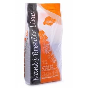 "Сухой корм Frank's ProGold Breeder Line для щенков, ""Формула Роста"", 30/14, 15 кг."