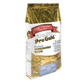 Сухой корм Frank's ProGold для собак, лосось/сельдь, 24/13, 15 кг.