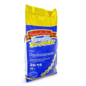 """Сухой корм Frank's ProGold для энергичных собак, """"Достойная победа"""", 26/16, 15 кг."""