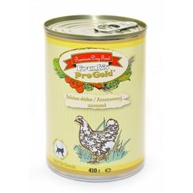 Влажный корм Frank's ProGold для кошек, аппетитный цыпленок, ж/б, 410 г