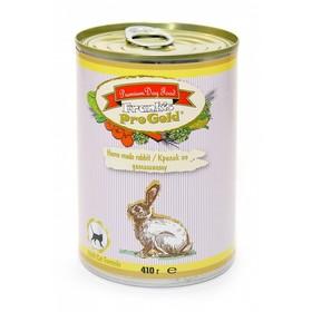 Влажный корм Frank's ProGold для кошек, Кролик по-домашнему, ж/б, 410 г