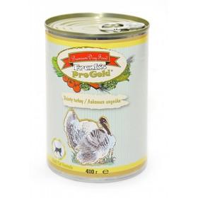 Влажный корм Frank's ProGold для кошек, лакомая индейка, ж/б, 410 г