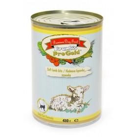Влажный корм Frank's ProGold для кошек, нежные кусочки ягненка, ж/б, 410 г