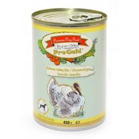 Влажный корм Frank's ProGold для собак 'Аппетитные кусочки индейки', ж/б, 410 г Ош