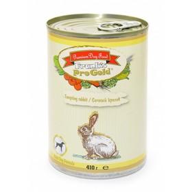 """Влажный корм Frank's ProGold для собак """"Сочный кролик"""", ж/б, 410 г"""