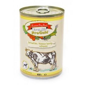 """Влажный корм Frank's ProGold для собак """"Нежные кусочки говядины"""", ж/б, 410 г"""