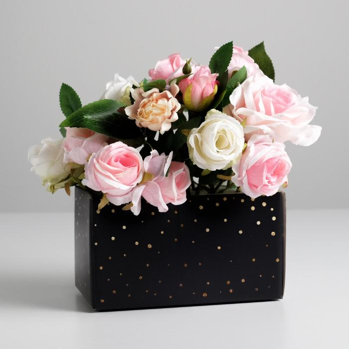Складная коробка «Весь для тебя», 12 × 17 × 10 см - фото 8443840