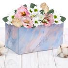 Складная коробка «Мраморные разводы», 12 х 17 х 10 см