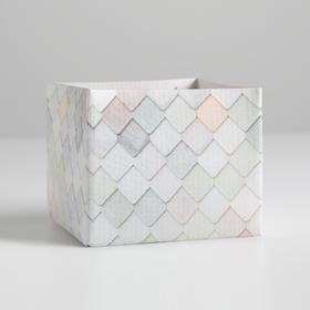 Складная коробка «Мой сад», 10 х 10 х 12 см. Ош