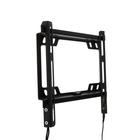 """Кронштейн HOLDER LCD-F2617-B, для ТВ, фиксированный, 22""""-40"""", 22 мм от стены, черный"""