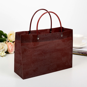 Package plastic, brown, 28 x 10 x 20 cm