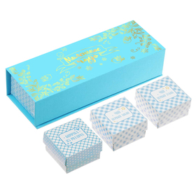 """A set of commemorative boxes for a boy """"a Small miracle"""""""