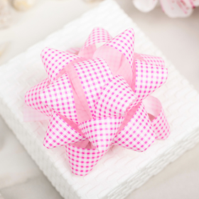 Bow star No. 7.5 (a SET of 6 PCS)