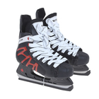 Коньки хоккейные 206Р black, разм. 40 в пакете