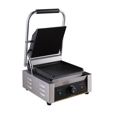 Гриль Gastrorag NPL-EGD14E, электрический, настольный, 50-300°С, серебристый
