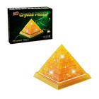 "Пазл 3D кристаллический, ""Пирамида"", 18 деталей, цвета МИКС"