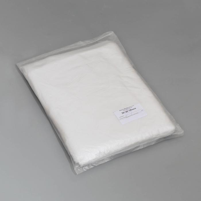 """Пакет фасовочный ПНД 30х40 """"Эконом"""", 10 мкм, 760 шт - фото 308015582"""