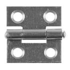 Петля дверная STAYER MASTER, 25 мм, универсальная, цвет белый цинк