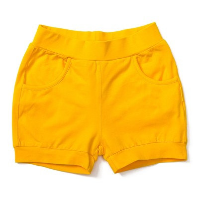 Шорты для девочки, рост 116 см, цвет жёлтый 131-016-10