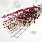 Декор ветка лоза розочки 105 см (фасовка 10 шт, цена за 1шт) - фото 230353