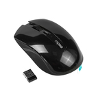 Мышь Rapoo 7200P, беспроводная, оптическая, 1000 dpi, USB, черная