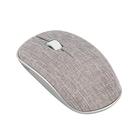 Мышь Rapoo 3510 plus, беспроводная, оптическая, 1000 dpi, тканевое покрытие, USB, серая