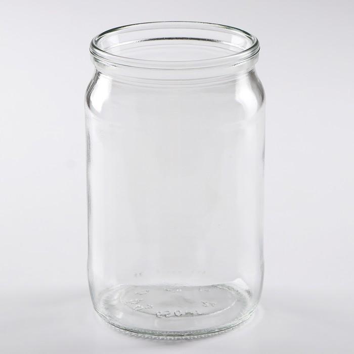 Банка стеклянная 0,65 л СКО-82