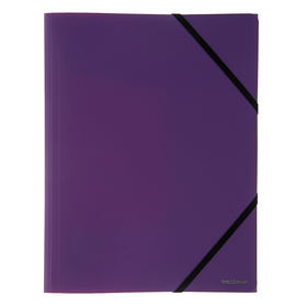 Папка пластиковая на резинке А4 Erich Krause Classic, фиолетовая Ош