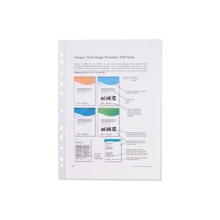 Файл-вкладыш А4, 10 штук Erich Krause Semi-Clear Economy, прозрачный