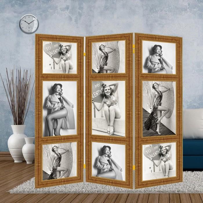 """Ширма """"Фотомодель"""", 160 × 150 см"""