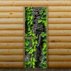 """Дверь для бани и сауны """"Древесный ствол"""", 190 х 70 см, с фотопечатью 6 мм Добропаровъ"""