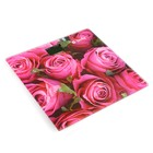 """Весы напольные DELTA D-9233, электронные, до 150 кг, """"Розовые розы"""""""