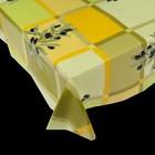 ПОДАРОК Скатерть многоразовая с рисунком 132 х178 , цвет МИКС