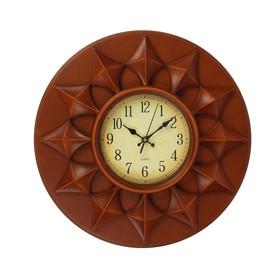 """Часы настенные, серия: Классика, """"Шоколад"""", d=43 см"""