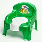 Горшок-стульчик, зеленый