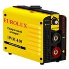 Сварочный аппарат инверторный Eurolux IWM160, 220 В, 10-160 А, 4.8 кВт, IP21, дуга 26.4 В