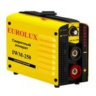 Сварочный аппарат инверторный Eurolux IWM250, 220 В, 10-250 А, IP21, дуга 30 В, 1.6-6 мм