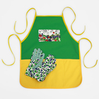 """Набор """"Вкусного урожая"""" садовый фартук, перчатки"""