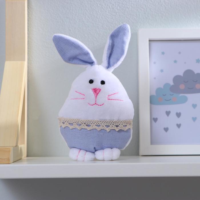"""Мягкая игрушка """"Кролик"""" с кружевом, цвета МИКС"""